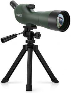 Ecoopro Emarth 20-60x60AE Longue-Vue Téléscope Anti-buée 45 Degrés Oculaire Incliné Longues-Vues avec Trépied,...
